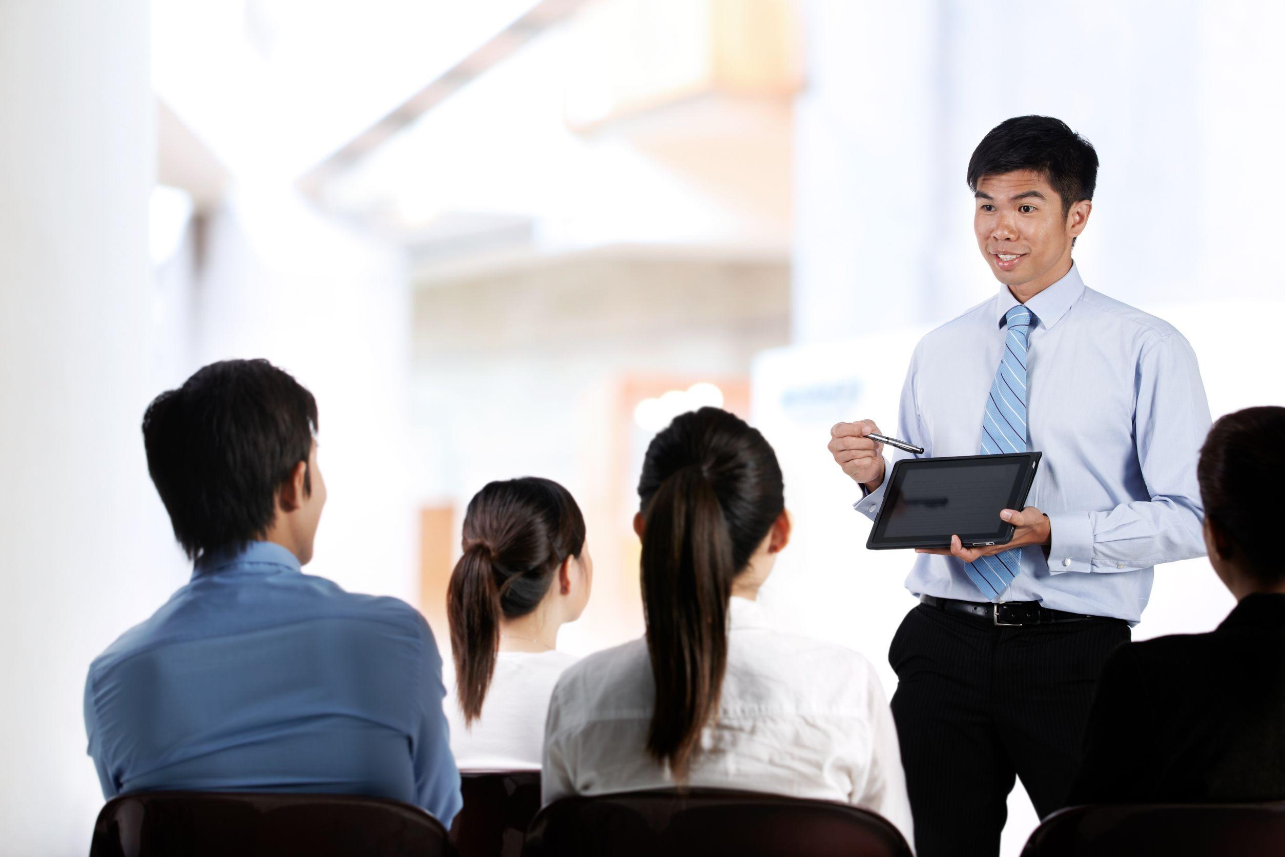 Presentation Skills IMNZ – Sales Presentation